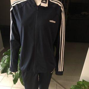 Adidas ladies jacket size XL and pants size L